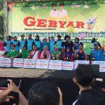 Puncak Peringatan  HKN ke-55 Tahun 2019 di Alun-alun Kabupaten Jombang Bersama Ibu Bupati Mundjidah Wahab