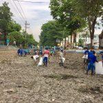 Bersih Bersih sepanjang Sungai Gude Ploso mulai dari  desa.Tambakrejo sampai kect. Tembelang Jombang