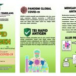 Rapid Diagnostic Test Antigen (RDTA) di Puskesmas Tembelang